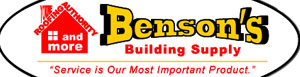 Bensons Building Supply