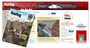 Roofing Contractor inpreint and online