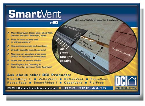 SmartVent Attic Intake Ventilation