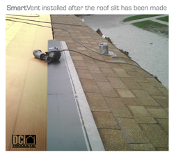 SmartVent Mid Roof Installed