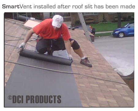 SmartVent Mid-Roof Application