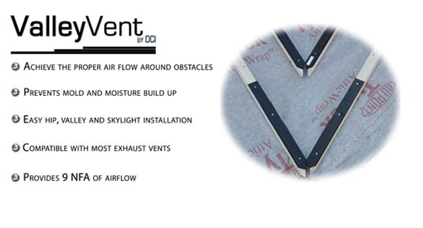 ValleyVent for cross ventilation