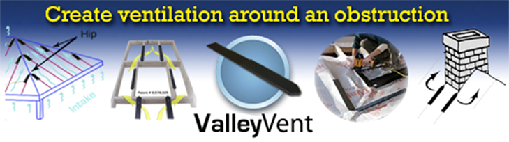 Click here to see how ValleyVent works on roof obstructions